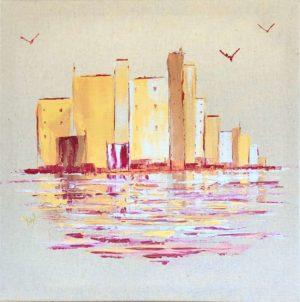 toile Ysabel Laffitte artiste peintre Landes