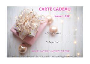 carte cadeau Ysabel Laffitte
